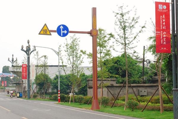 旅游景区景点道路交通指示标志牌万博体育manbetx手机版登陆